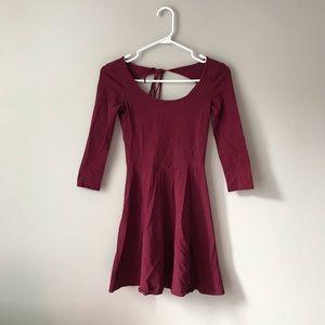 🦋3/50$ American Eagle burgundy mini dress
